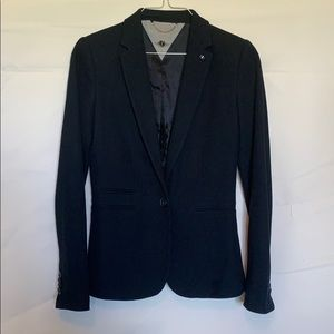 Women's navy blue Massimo Dutti jacket sz 4